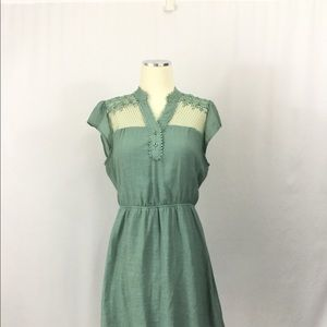 Mine lace embellished dress